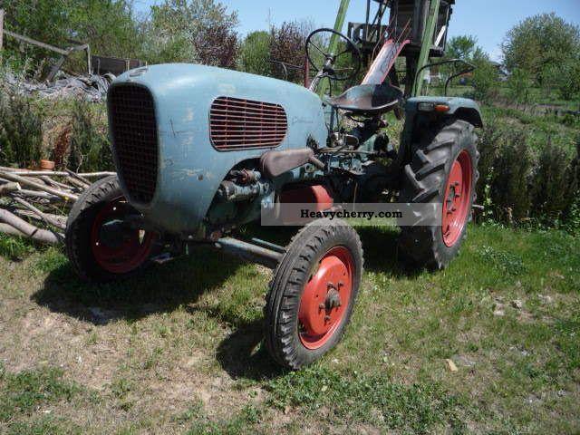 1954 Guldner  Güldner AK 9 Agricultural vehicle Tractor photo