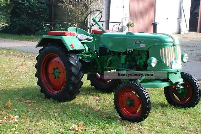 1958 Guldner  Güldner ABS 10-22 hp - 2 cyl. - QUICK RUNNER Agricultural vehicle Tractor photo