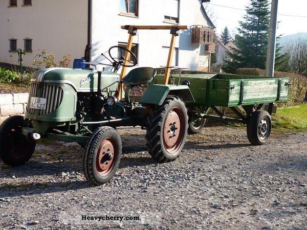 1954 Guldner  Güldner AZK 8K Agricultural vehicle Tractor photo