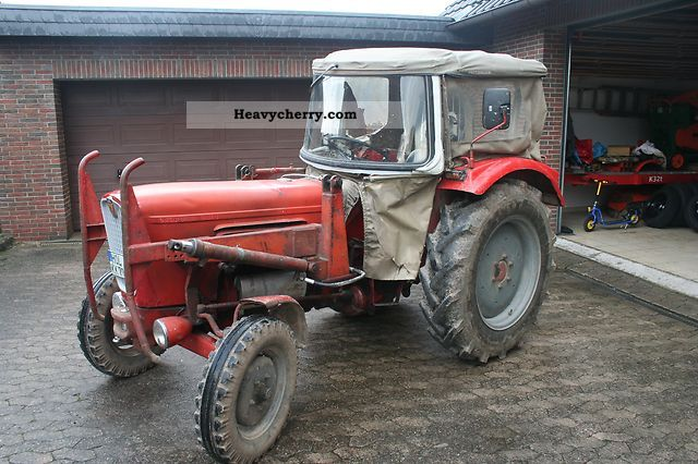 1966 Guldner  Güldner G30S Agricultural vehicle Tractor photo