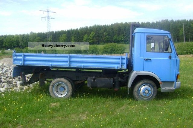 Iveco Fiat I 1987 Three Sided Tipper Truck Photo And Specs
