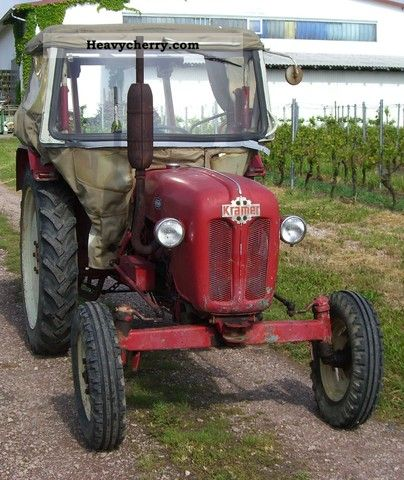 1964 Kramer  450 export TUV NEW 05/2014 Agricultural vehicle Tractor photo