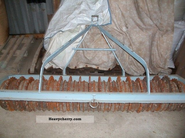 1995 Accord  roller Agricultural vehicle Harrowing equipment photo