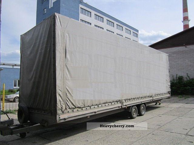 2003 Agados  D13-B2 V Trailer Stake body and tarpaulin photo