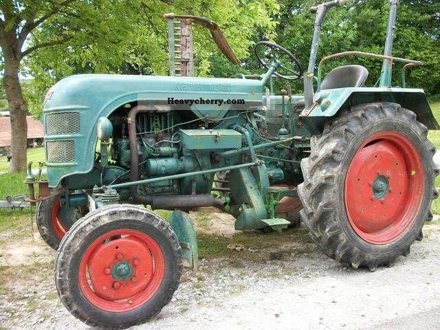 1956 Kramer  KL 180 Agricultural vehicle Tractor photo