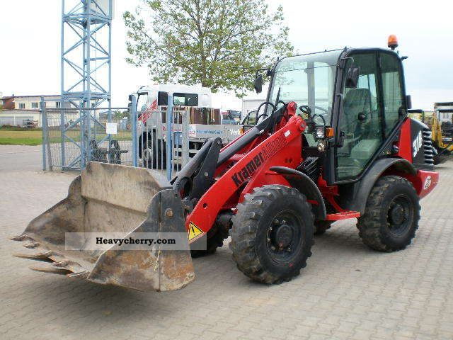2001 Kramer  318 Construction machine Wheeled loader photo