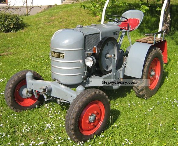Kramer k 22 th anniversary model 1951 agricultural tractor photo and specs - Kamer model ...