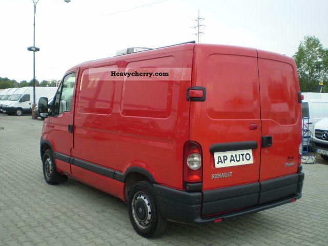 renault master l1h1 l1h1 2 5dci refrigerated vans. Black Bedroom Furniture Sets. Home Design Ideas