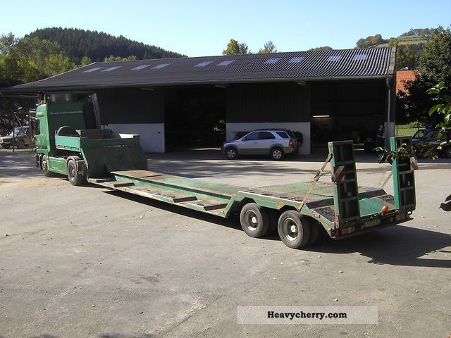 1999 Dinkel  DSATV 29 000 Semi-trailer Low loader photo