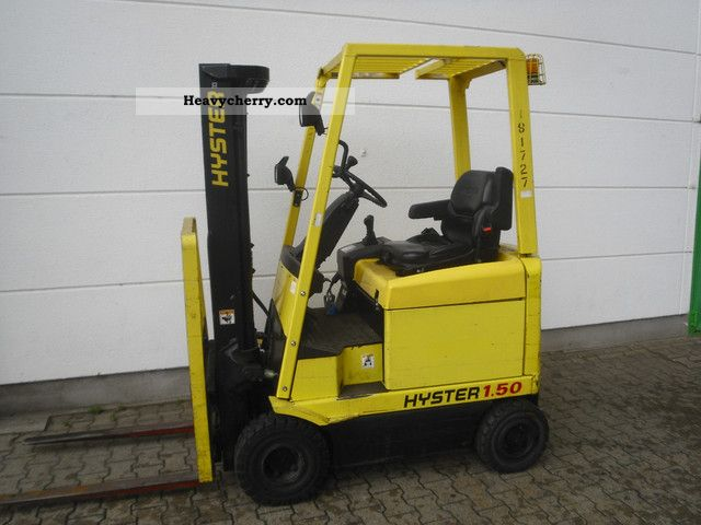 2003 Hyster  E 1.50 XM Forklift truck Front-mounted forklift truck photo
