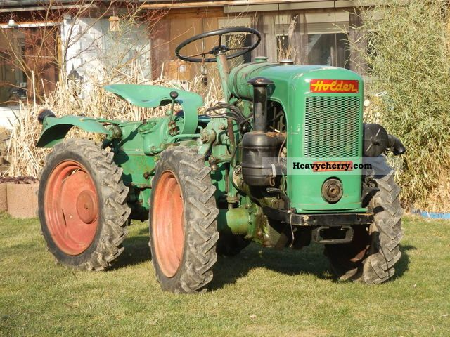 1957 Holder  A10 Agricultural vehicle Tractor photo