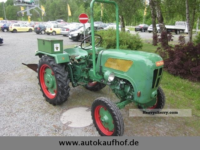 1964 Holder  B12 / C with power lift-u.Pflug Tüv new!, Top condition Agricultural vehicle Tractor photo