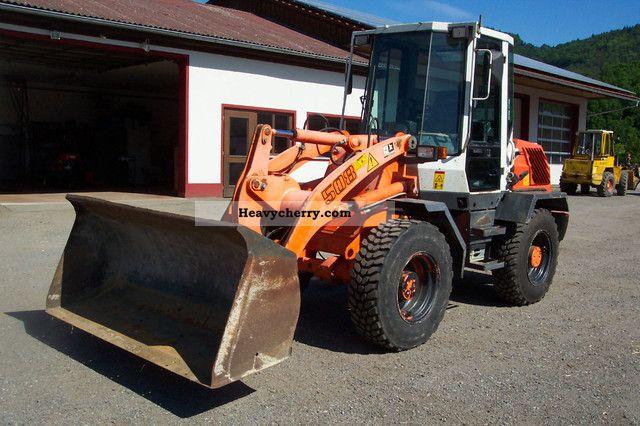 2001 Liebherr  508 built 2001 Construction machine Wheeled loader photo
