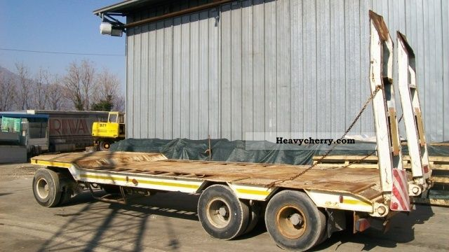 1993 BNG  STS RTC 40 Trailer Low loader photo