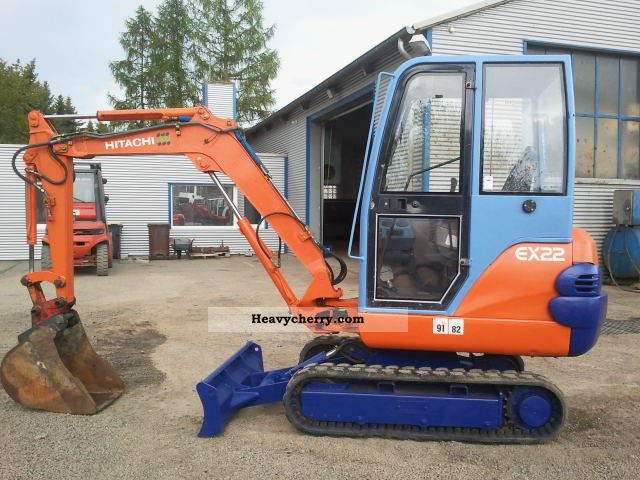 1997 Hitachi  EX 22, in good condition Construction machine Mini/Kompact-digger photo