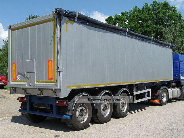 2010 MEGA  NW 0373 - tipper (51cbm vollalu,) Semi-trailer Tipper photo