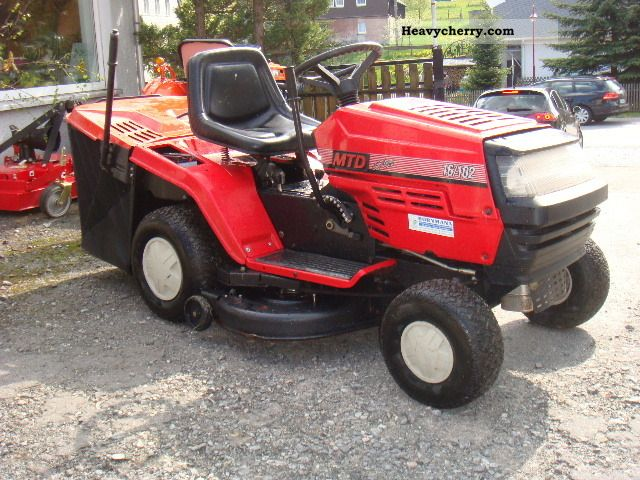 16 Mtd Tractor : Mtd tractor