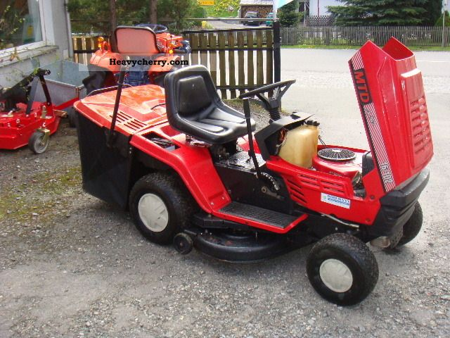 16 Mtd Tractor : Mtd lawn tractor agricultural reaper photo and
