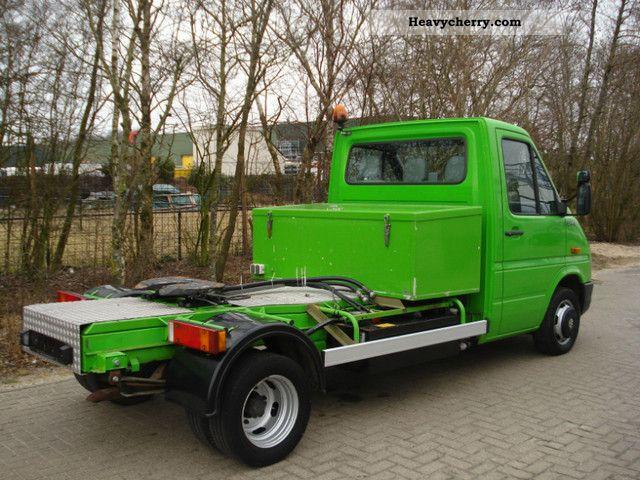 Heavy Truck Pto : Vw lt climate pto standard tractor trailer unit