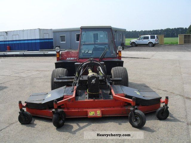 Aebi TT80 Terratrac with mower 2002 Agricultural Tractor