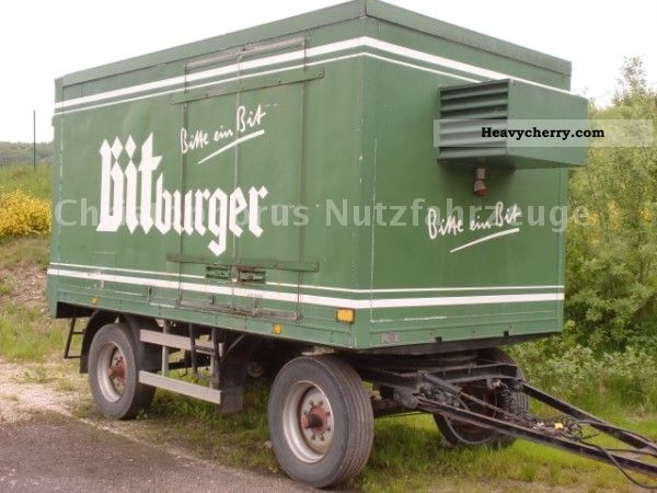 1973 Other  2-axle refrigerated trailer Trailer Refrigerator body photo