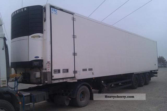 Side Door Tractor Trailer : Side door vl deep freeze transporter semi trailer