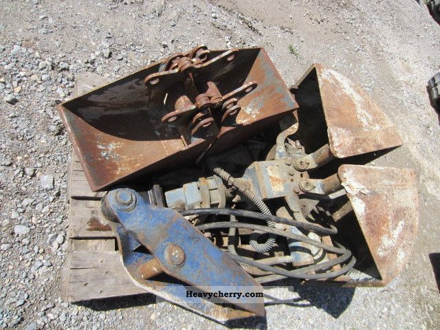 1998 Other  MS 03Greifer with gripper rotary unit 2 cups 20/40 Construction machine Mini/Kompact-digger photo