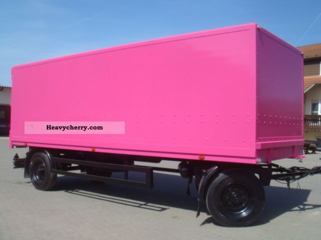 1998 Other  MV painted Lübtheen PA 11/72 promotional trailers Trailer Box photo