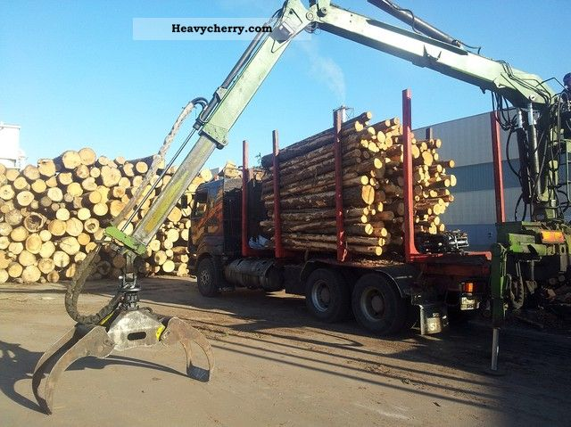 1998 Other  SISU E14 Truck over 7.5t Timber carrier photo