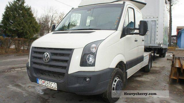 volkswagen crafter tdi mini truck      semi trailer trucks photo  specs