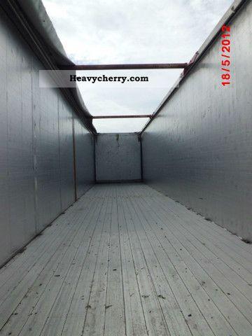 Reisch With Side Doors 2008 Walking Floor Semi Trailer