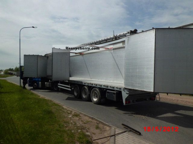 Reisch With Side Doors 2008 Walking Floor Semi Trailer