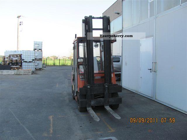 2011 Other  Lugli gasolio Forklift truck Reach forklift truck photo