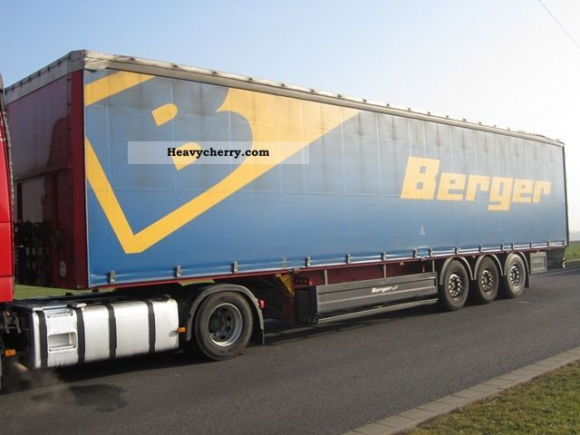 Berger Flatbed Tarp 2007 2007 Stake Body And Tarpaulin Semi Trailer Photo And Specs