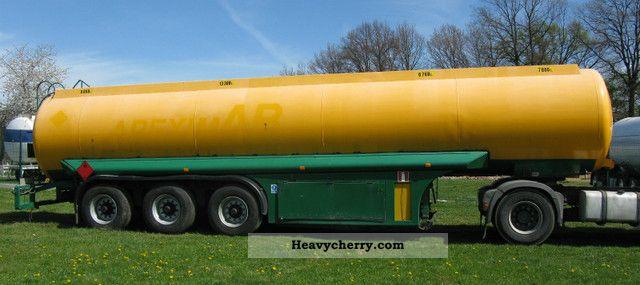 ZASTA N-36 Diesel Fuel 1996 Tank body Semi-trailer Photo ...
