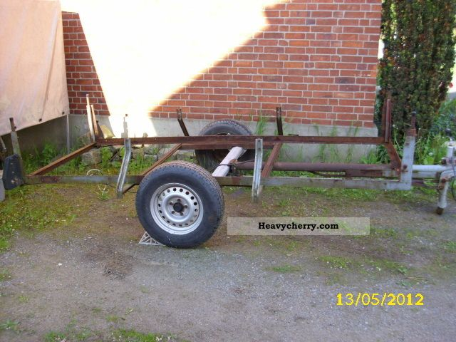1975 Other  Trailer Trailer Chassis photo