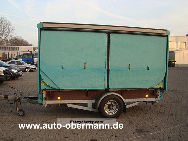 1998 Other  Sales trailer MA 130 Trailer Traffic construction photo