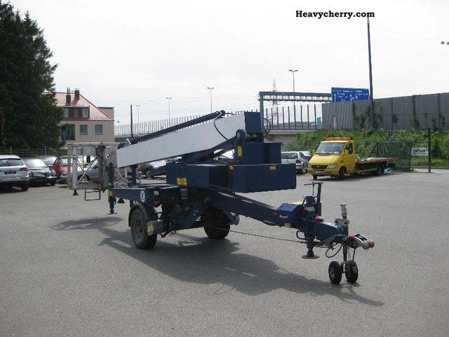 Hydraulic Platform Trailers : Denka lift dk mk hydraulic work platform trailer