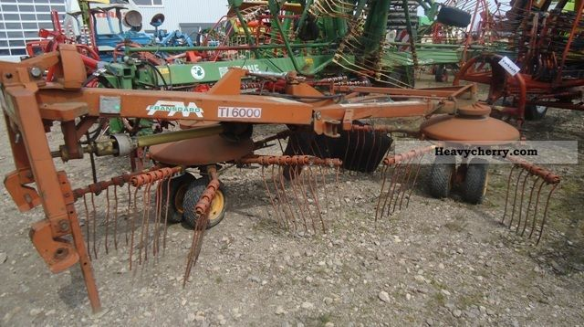 1996 Other  Fransgard TI 6000 - Seitenschwader Agricultural vehicle Haymaking equipment photo