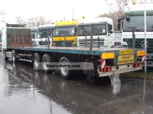 1998 Other  SDC 3-axle semi-trailer - extendable Semi-trailer Platform photo