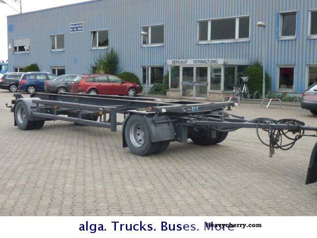 1994 Other  Jumbo Annex BDF with hydraulic connections Trailer Chassis photo