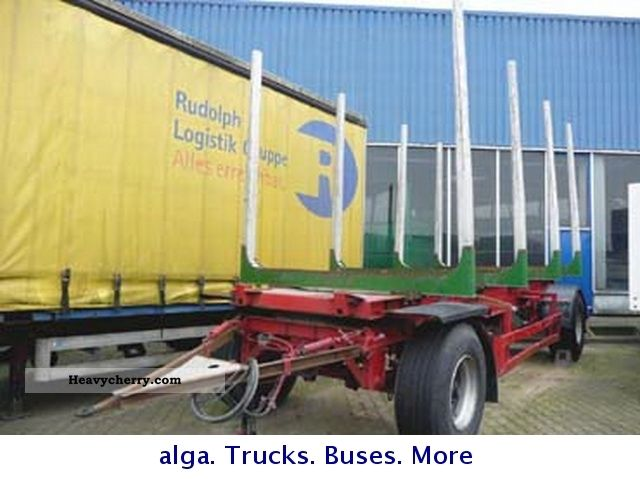 2004 Other  JANZEN timber transport, Rungenanh. Trailer Chassis photo