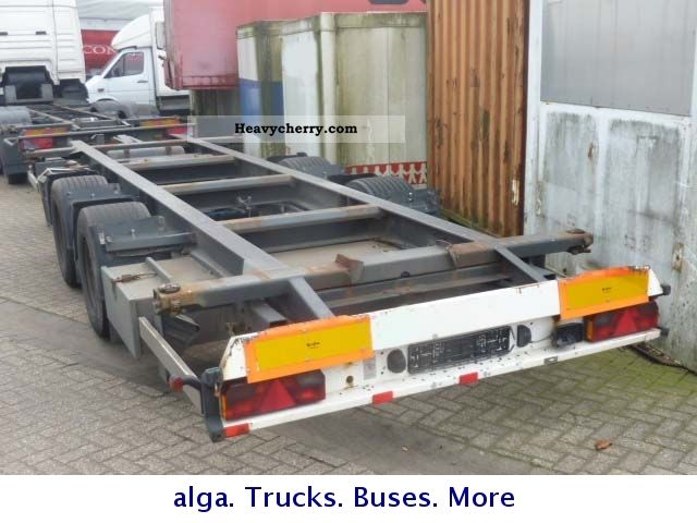 H U0026 W Tandem Swapbodies 18 To Anh 2007 Chassis