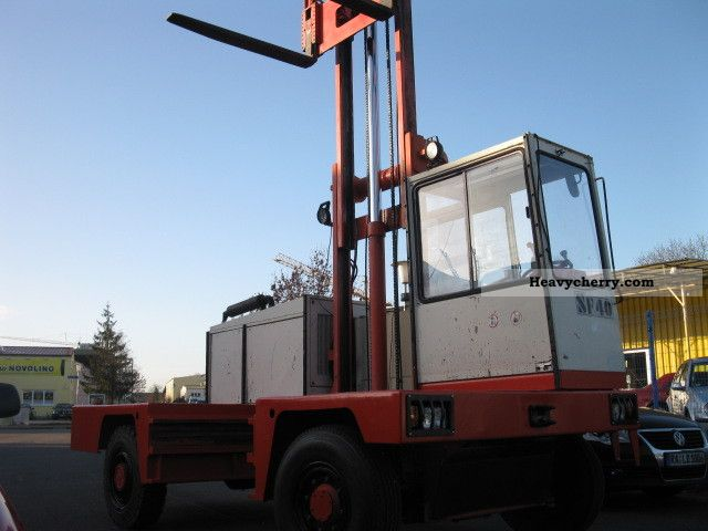 Fantuzzi SF 40 1986 Side-loading forklift truck Photo and Specs
