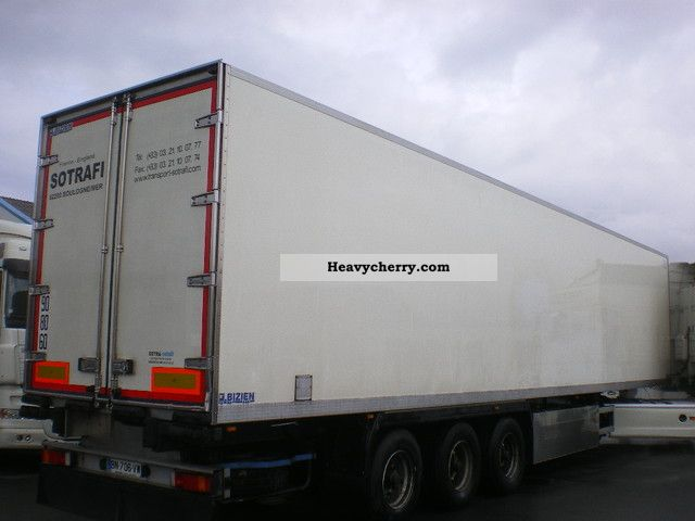 remorque frigorifique 2004 deep freeze transporter semi trailer photo and specs. Black Bedroom Furniture Sets. Home Design Ideas