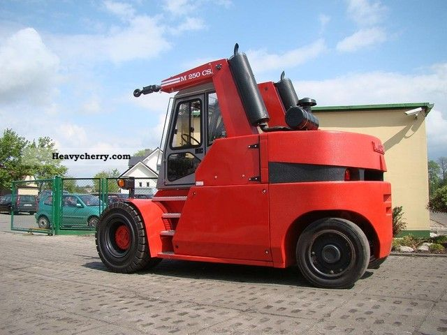 2001 Other  Mora M 250CS Forklift truck Front-mounted forklift truck photo