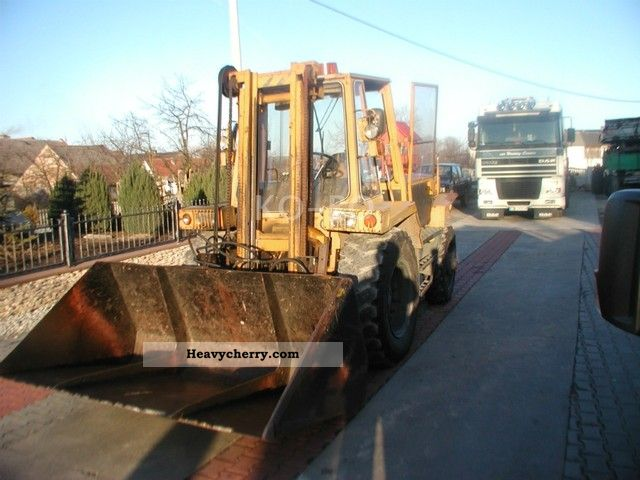 1990 Other  ZTS-ND 9-031 Forklift truck Front-mounted forklift truck photo