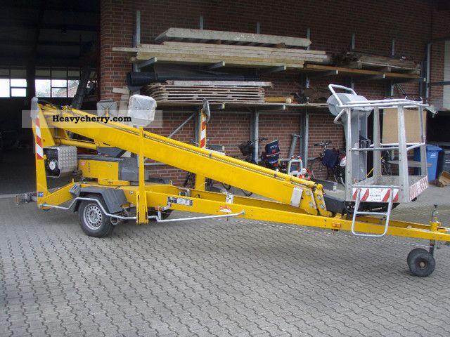 Hydraulic Platform Trailers : Dino t hydraulic work platform trailer photo and specs