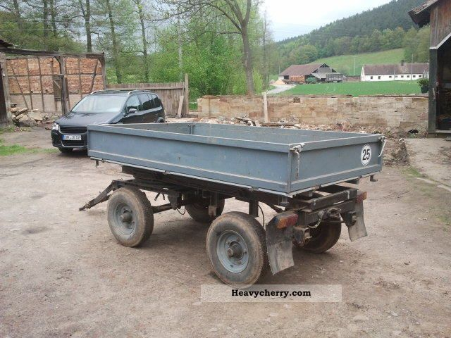 Hm Multicaranh 228 Nger 20 11 1989 Other Trailers Photo And Specs