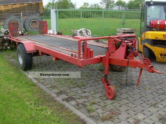 Single Axle Trailer Specs : Low loader single axle hydraulic lowered km h
